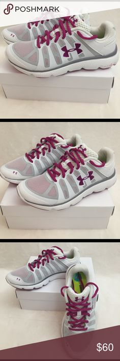 NWT Under Armour micro foam sport shoes New under armor sport shoes. Under Armour Shoes Sneakers