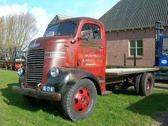 Old Dodge coe truck