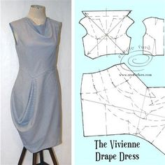 Two days of creative pattern making in rural NSW. Sample these half-day Creative Pattern Making workshops, in COOLAMON, July 7th & 8th #JerseyTwists #vivienneDrapeDress #creativepatternmaking #drapepatterns #wellsuitedblog