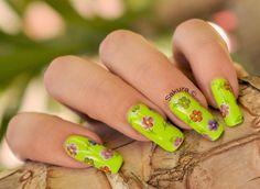 Nail Art Foils Fleuri