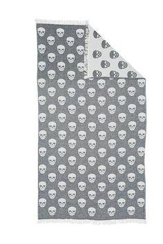 Skull Oteki Turkish Towel – TheSuperCool