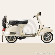 Vintage Vespa- would love to own one when I move to France