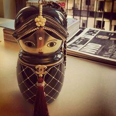 chanel matryoshka doll purse. #obsessed