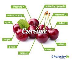 Czereśnie: wartości odżywcze, witaminy i minerały  #jedzenie #zdrowie #witaminy #owoce