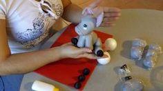 utilisima manualidades porcelana fria - YouTube