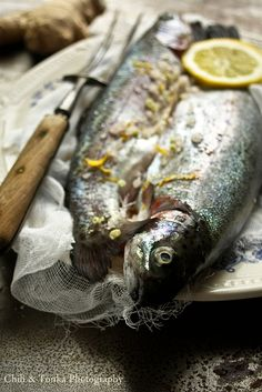 Trout baked in sea salt - Chili & Tonka