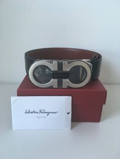 a30281f7906 Salvatore Ferragamo Belt's man NEW with box, tags and certificate