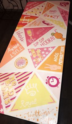 Obsessed with my new table 21 here I come beerpongtable drinking drinkinggames # Beer Table, Beer Pong Tables, Ping Pong Table, Diy Table, Cute Crafts, Diy Crafts, Spool Crafts, Drinking Games For Parties, Beer Girl