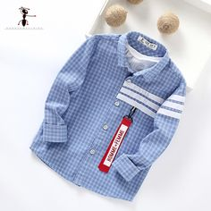 Kung Fu Ant Plaid Long Sleeve Autumn New Arrival Turn-down Collar Blusas School Blouse Boy Shirt Long Sleeve Cotton 7105 Baby Boy Shirts, Boys T Shirts, Baby Boy Dress, Baby Boy Outfits, Boys Kurta Design, Boys Clothes Style, Kids Clothing Brands, Cute Outfits For Kids, Kung Fu