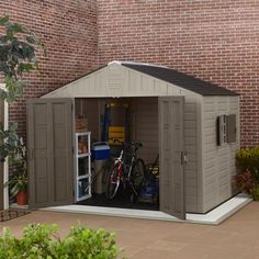 1000 Ideas About Resin Sheds On Pinterest Plastic