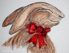 Oil crayons for Bebe's Rabbit