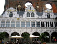 Lubeck Rathaus. Facade added in 1570 | Flickr - Photo Sharing!