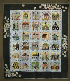 lovely house quilt
