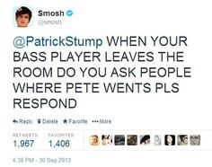smosh pls respond tweet patrick stump