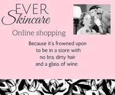 'Tis the season..... I love online holiday shopping :) www.everskin.com/with/maryclaire/shop Message me and I can help you pick out the PERFECT GIFT for yourself or a loved one....