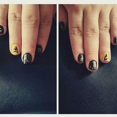 Star Trek nails!