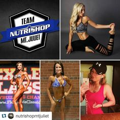 """#Repost @nutrishopmtjuliet with @repostapp.  Our #WCW goes out to our Sponsored Athletes at Nutrishop Mt. Juliet!! From the start we have always pushed the idea of """"Family"""" over anything else!! Each one of these girls are amazing inside and out!! Check em out for Nutrishop fitness posts and some extra motivation!! @tmerb @shauna8719 @fitnurse40 @tayyylurr #ourteamisfamily #grind #sponsoredathlete #wefuelmtjuliet #wefuelhermitage #nutrishop #nutrishopusa #nutrishopmtjuliet #teamnutrishop…"""