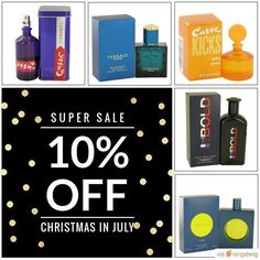 It's #Christmas in #July!  Everything on Sale!   Have a better #Summer!  with 10% Off Storewide!  www.Perfushop.com Your go-to source for Premium #Fragrances and #Perfumes.  Trusted #Quality. Great #Brands. Better You!. Use Code INST10 for 10% Off your entire purchase!  #loveit #instacool #shopping #onlineshopping #instashop #instagood #instafollow #picoftheday #love #instasale #sale #Perfushop #Perfume #Fragrance #Bath&Body #fashion#dailydeal #todayonly  #coupon  Perfushop.com - Trusted…