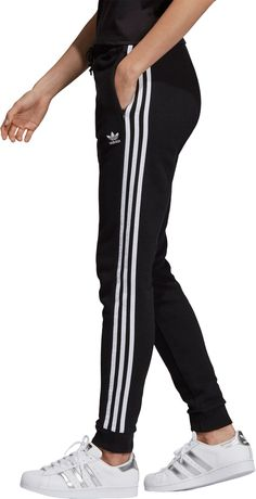 Adidas pants women - adidas Originals Women's Cuffed Track Pants – Adidas pants women Addidas Sweatpants, Sweatpants Outfit, Adidas Outfit, Adidas Trackies, Sporty Outfits, Cute Outfits, Jogger Adidas, Pants For Women, Fashion Looks