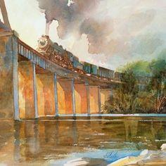 Robert Steele train illustration
