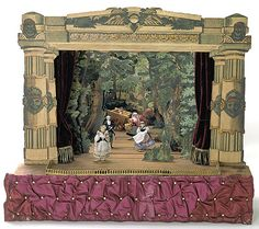 Toy Theatre | toy theater 1825 1880 victoria albert museum this toy theater ...