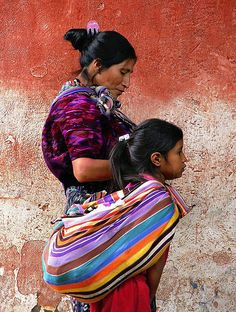 Guatemalan women and their textiles