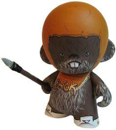 'B-Boy Wicket' by T.O. Designs. Custom Ewok Munny commission.