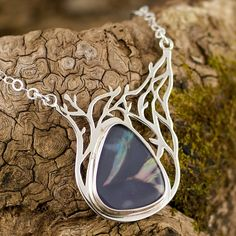 Unique Black Fire Opal whimsical one of a kind by opalwing on Etsy
