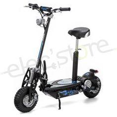 La SXT1000 Turbo, une trottinette électrique robuste pour le loisir. /// SXT1000 Turbo electric scooter, ideal for leisure.