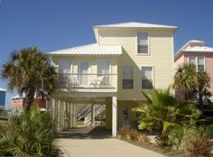 Homes, Blue Lagoon Vacation Rental - VRBO 159108 - 4 BR Gulf Shores West House in AL, Fabulous Home, Great Location, Pool & Dock