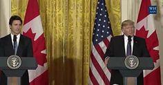 Full Video & Transcript: President Donald Trump, Canadian Prime Minister Justin Trudeau Joint Press Conference, Mon., Feb. 13, 2017