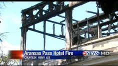 Red Cross Gives Aid to Aransas Pass Fire Victims Aransas Pass, Red Cross, Local News, Fire