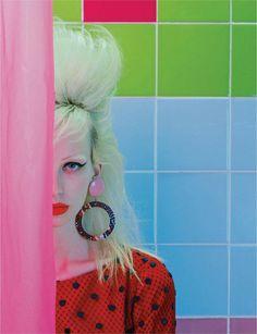Lili Sumner by Miles Aldridge for Numero France, November 2015 •