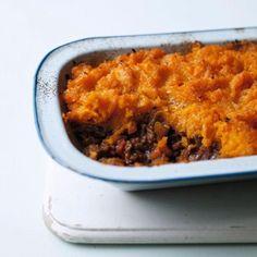 Butternut Squash Mash - Cottage Pie Recipe