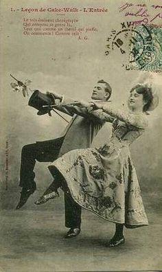 Tarjea postal- Cakewalk (baile) - Wikipedia