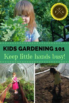 Kids Gardening 101- Activities for your kids & babies to do in the garden
