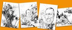 karikaturist und schnellzeichner für hochzeit und event