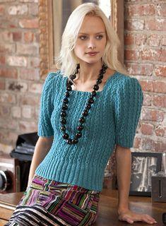 Sweater Girl pattern by Julie Farmer. Ravelry 379a38228d47