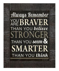 This 'Always Remember' Framed Wall Art is perfect! --- idea  from Zuilly and no longer available