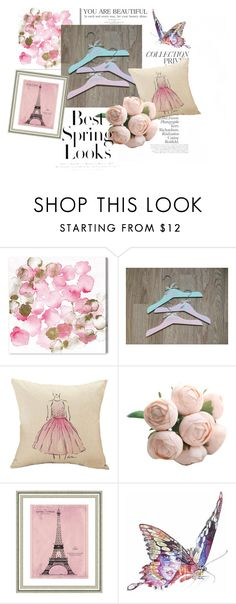 """""""Spring Style"""" by labelleprovence on Polyvore featuring косметика, By Terry, Oliver Gal Artist Co., Vintage Print Gallery, Jane Lee McCracken, H&M, homedesign, Hangers и loveyoins"""