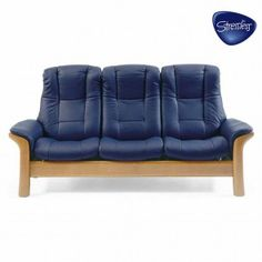 Ekornes Stressless Windsor High Back Sofa - Ekornes Stressless Windsor High Back Sofas, Stressless Recliners, Stressless Sofas and other Ergonomic Furniture.