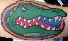 Tattoos on pinterest tattoo florida gators and florida for Tattoo shops junction city ks