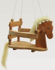 Kinderkram Wooden Horse Swing - Blueberry Forest For Dandelion's xmas