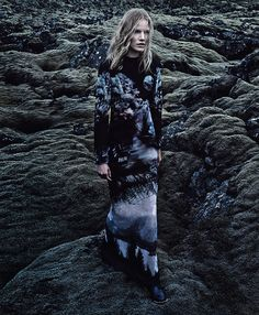 Love the wonderful spread in New York Times Sunday Oct. 6th, 2013 Out of This World photographed in Iceland by Craig McDean and styled by Jane How
