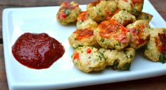 Cauliflower Tater Tots- We couldn't believe how delicious these tater tots were -- and they don't taste like cauliflower! We love the addition of jalapeno for an extra little kick. These would make a great appetizer or side dish and will be devoured in minutes.
