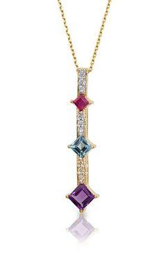Pendants from Fox Jewellers. Rare Gemstones, Diamond Pendant, Chains, Wedding Bands, Arrow Necklace, Sapphire, Fox, White Gold, Pendants