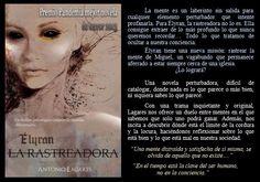 La rastreadora. Antonio Lagares. EduRead: #RecomiendoLeer @davidgscom Movie Posters, Book Reviews, Labyrinths, Recommended Books, Deep, Film Poster, Film Posters