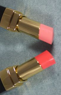 best chanel peach lipsticks | the two new shades of rouge coco shine $ 32 from the harmonie de ...