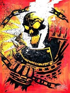 Ghost Rider Color Explosion