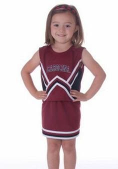 University of South Carolina 2 Piece Cheerleader Outfit - MissCocky